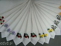 Ścierki z haftem